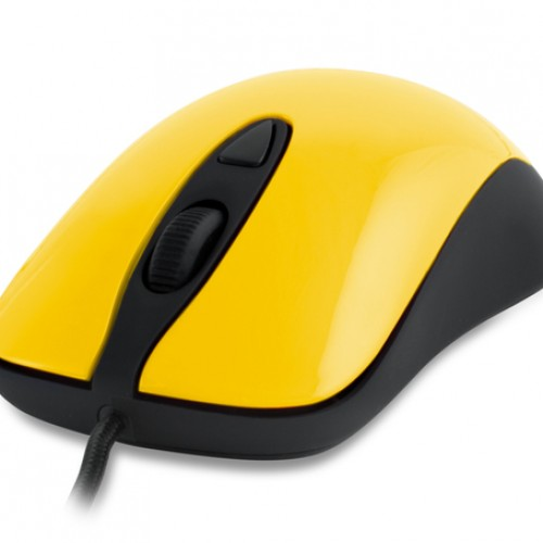 Nerdy Deal of The Day: SteelSeries Kinzu v2 Gaming Mouse – Yellow ($10)