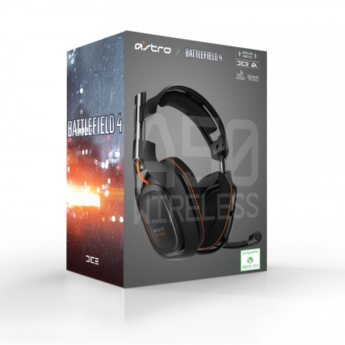 ASTRO Special Edition Battlefield 4 A50 Wireless gaming headset out for the Xbox 360