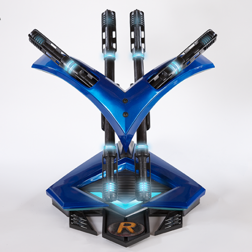 Become Nightwing with these full-sized weapons…errr…replicas