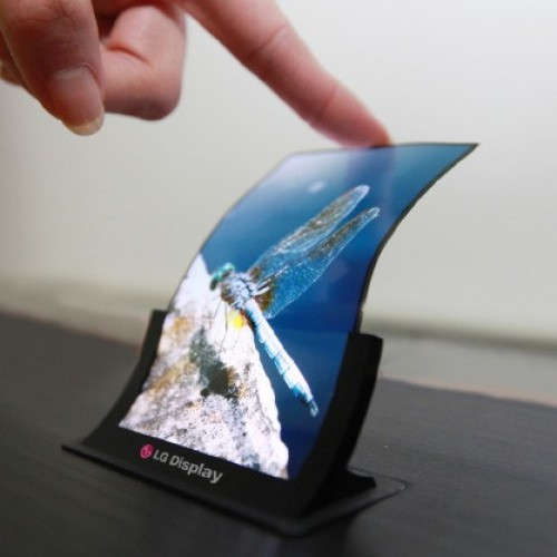 LG Begins mass production of flexible OLED displays for smartphones