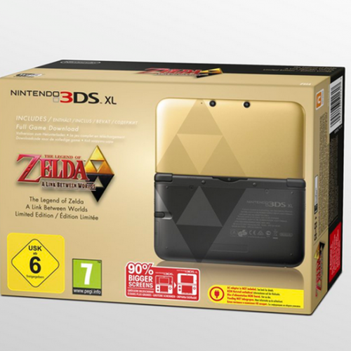 Leaked Black Friday ad shows the Zelda 3DS XL coming to America