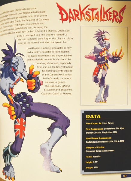Lord Raptor - Darkstalkers