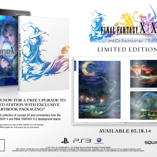 Final Fantasy X/X-2 HD coming March 18, 2014