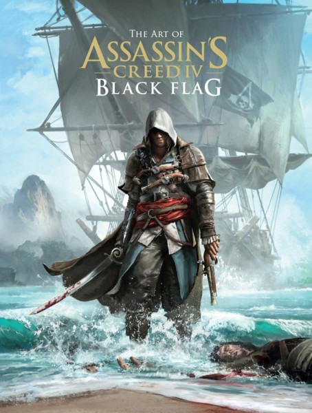Assassin's Creed IV art book cover