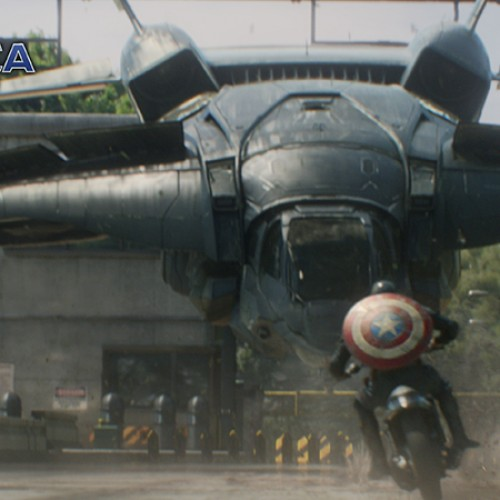 Captain America: The Winter Soldier gets new photos of Cap riding his hog