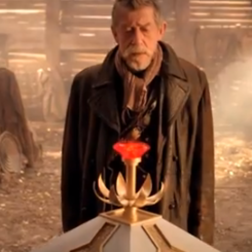 John Hurt reads famous monologues from Doctor Who