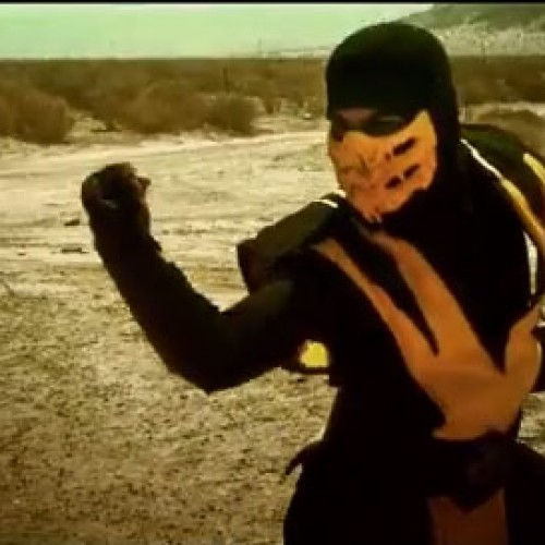 Scorpion goes up against Noob Saibot in another live-action short