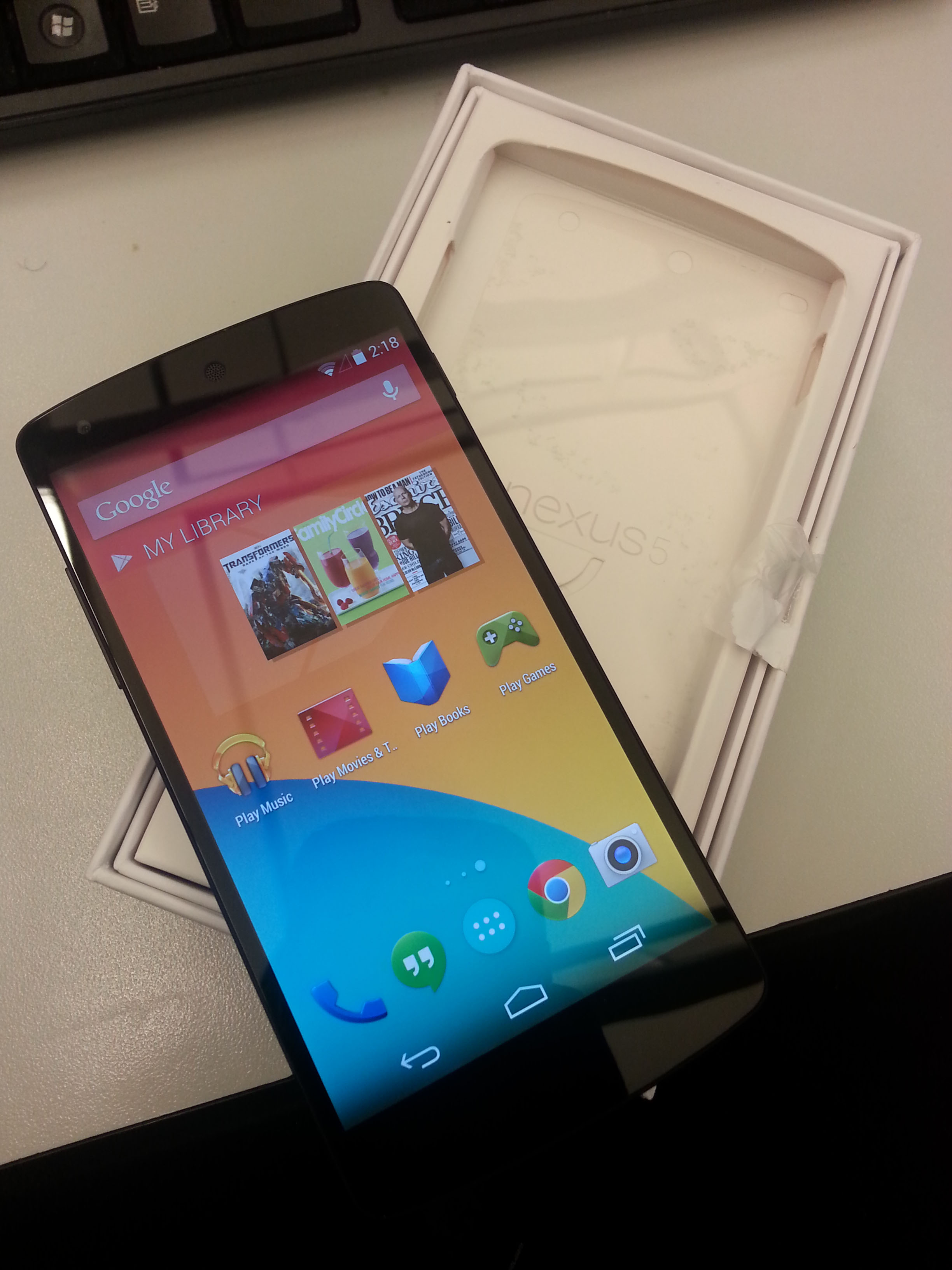 how to find out my nexus 5