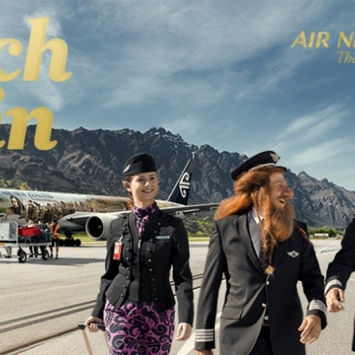 Air New Zealand does another Hobbit video ad, plus a chance to win a trip to Middle-earth