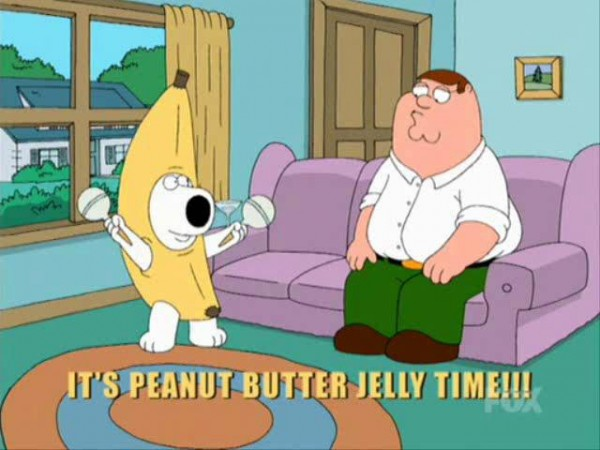 brian peanut butter jelly time