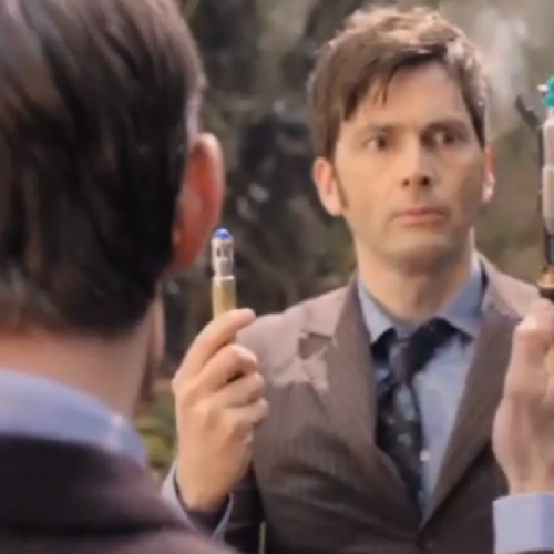 DW 50th: Extended Doctor Who: The Day of the Doctor trailer!