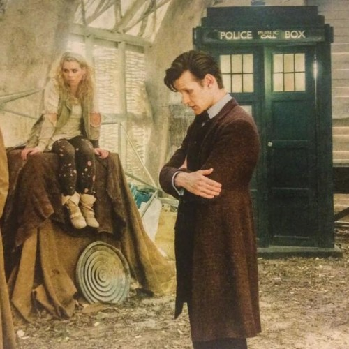 DW 50th: Behind the scenes of The Day of the Doctor!
