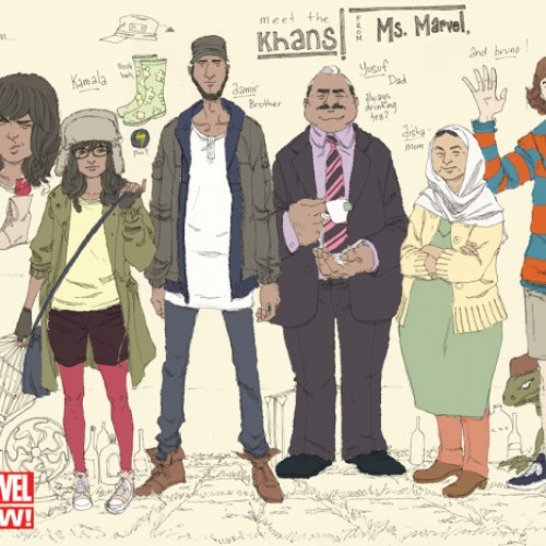 Marvel to have Ms. Marvel become a teenage Muslim girl