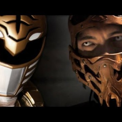 The White Ranger goes up against Scorpion in this live-action short