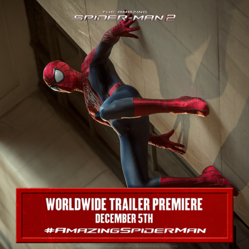 The Amazing Spider-Man 2 trailer coming December 5th