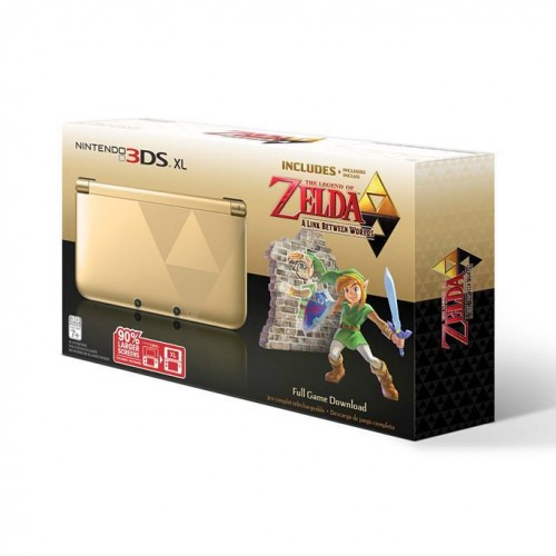 Pick up any Nintendo 3DS XL including the Zelda bundle for $149.99 at Target