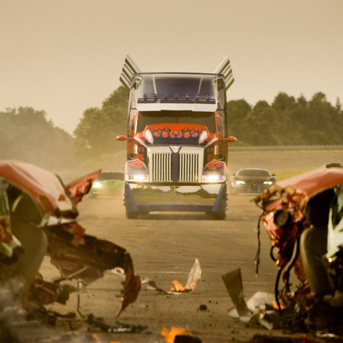 New stills for Transformers: Age of Extinction, and Michael Bay says it will be less goofy