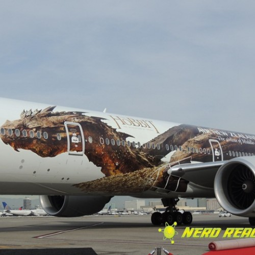 Air New Zealand welcomes Smaug on board!