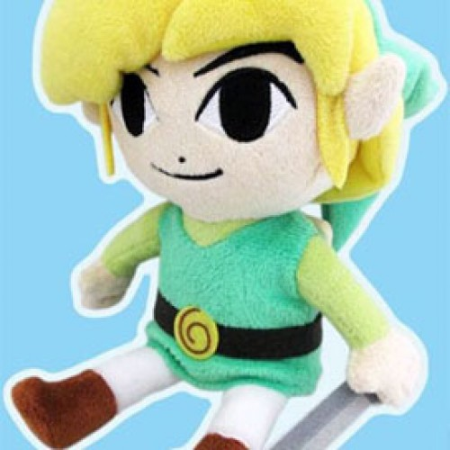 The Legend of Zelda: The Wind Waker plushies coming
