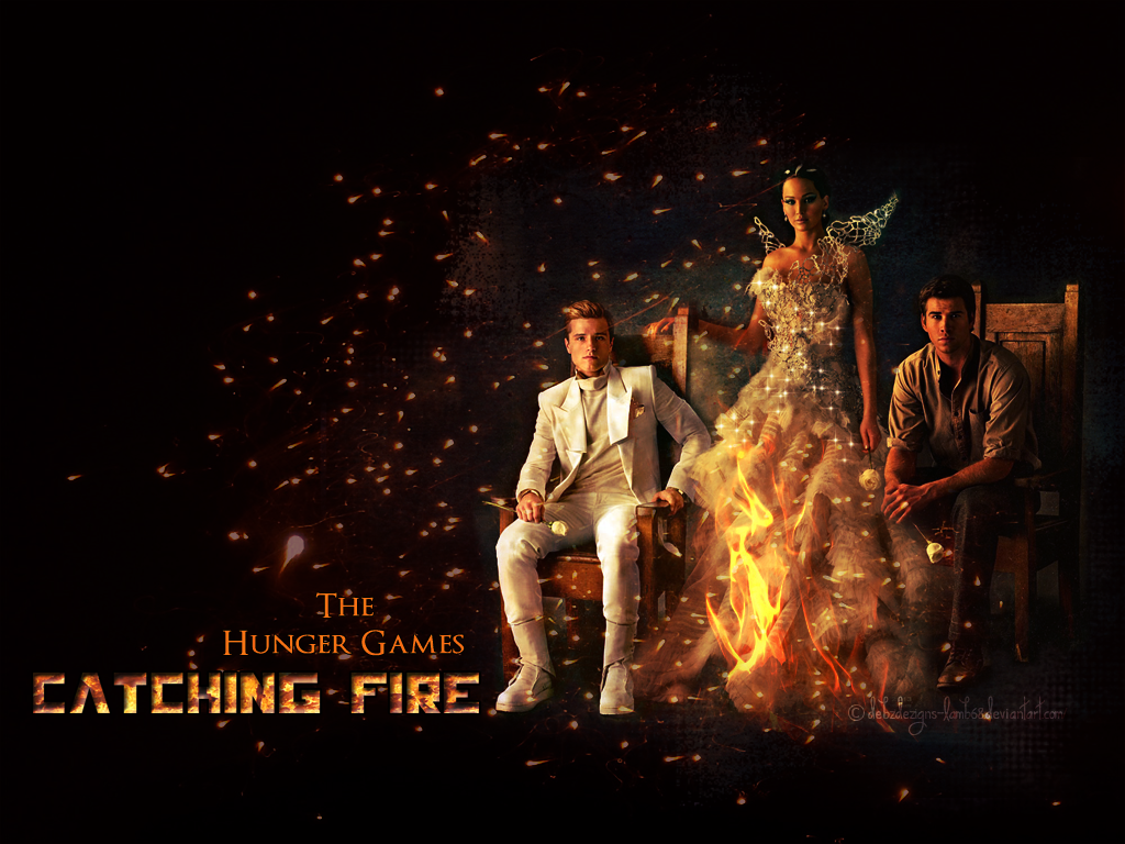catching fire Being the middle child is a bitch same goes for books and movies by that  standard, the hunger games: catching fire – the second film.
