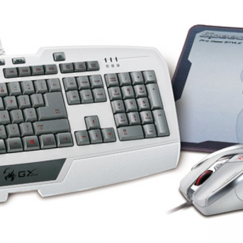 Genius releases white peripherals just in time for Christmas: GX Gaming DeathTaker, Imperator Pro, and GX-Speed