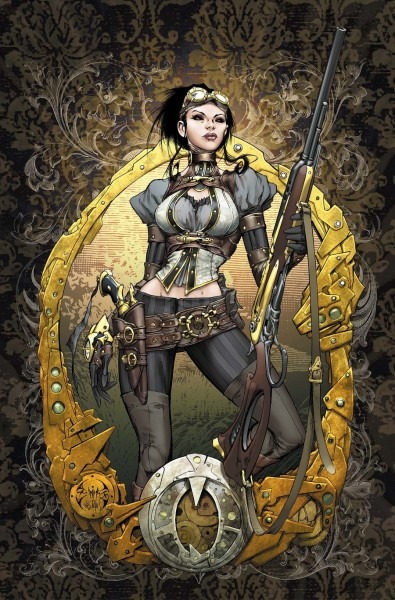 Lady_Mechanika_0_Cover_colors_by_joebenitez
