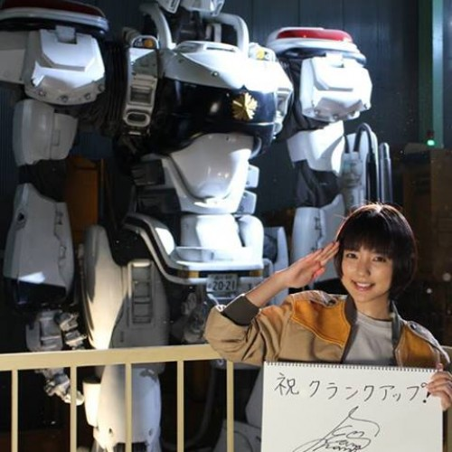 On-set photos for the Patlabor live-action TV show
