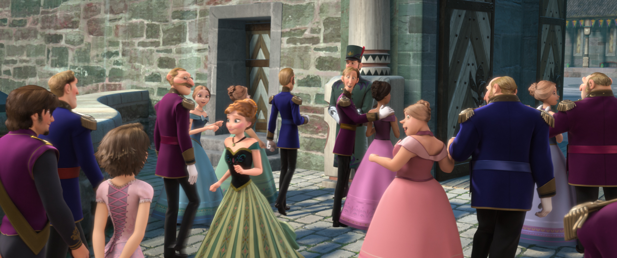 Rapunzel and Flynn Rider Easter egg in Disney's Frozen and more