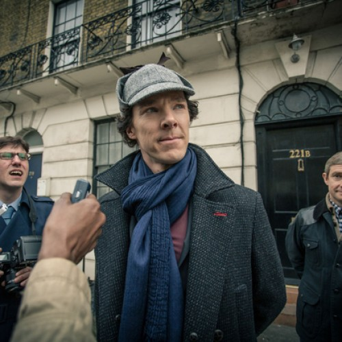 Sherlock Lives! 'SHERLOCK' series 3 photos, teaser and minisode!