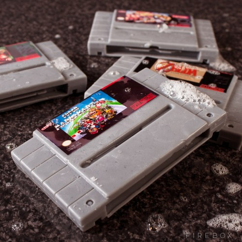 Now gamers can smell clean with the Super Nintendo bar of soap
