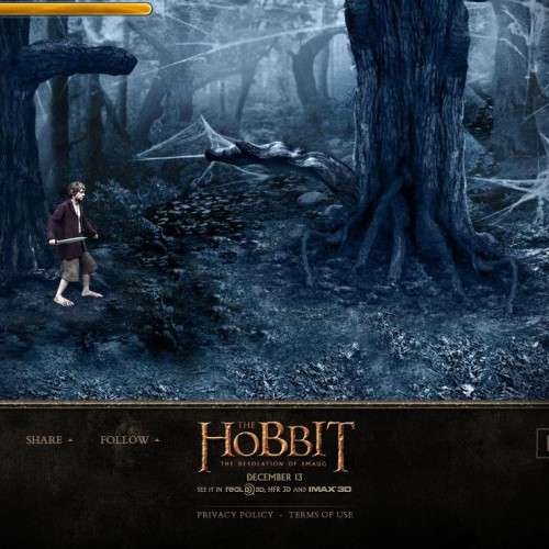 Play The Hobbit: The Desolation of Smaug games online