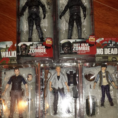 Contest: Winner announced for McFarlane Toys' Walking Dead Figures Giveaway