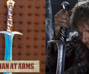 bilbo man at arms sting