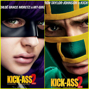chloe-moretz-aaron-taylor-johnson-kick-ass-posters