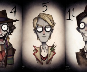 doctor who tim burton - 01
