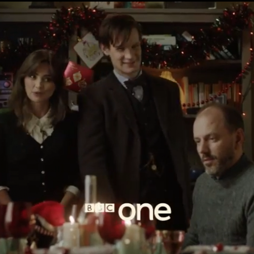 Doctor Who: Clips from the Christmas episode 'The Time of the Doctor'