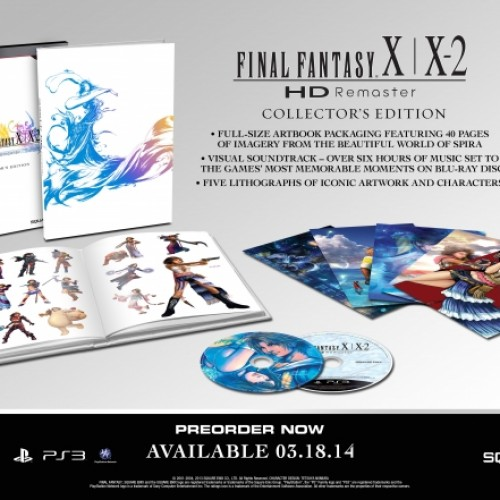 Final Fantasy X and X2 HD gets fancy with Collector's Edition