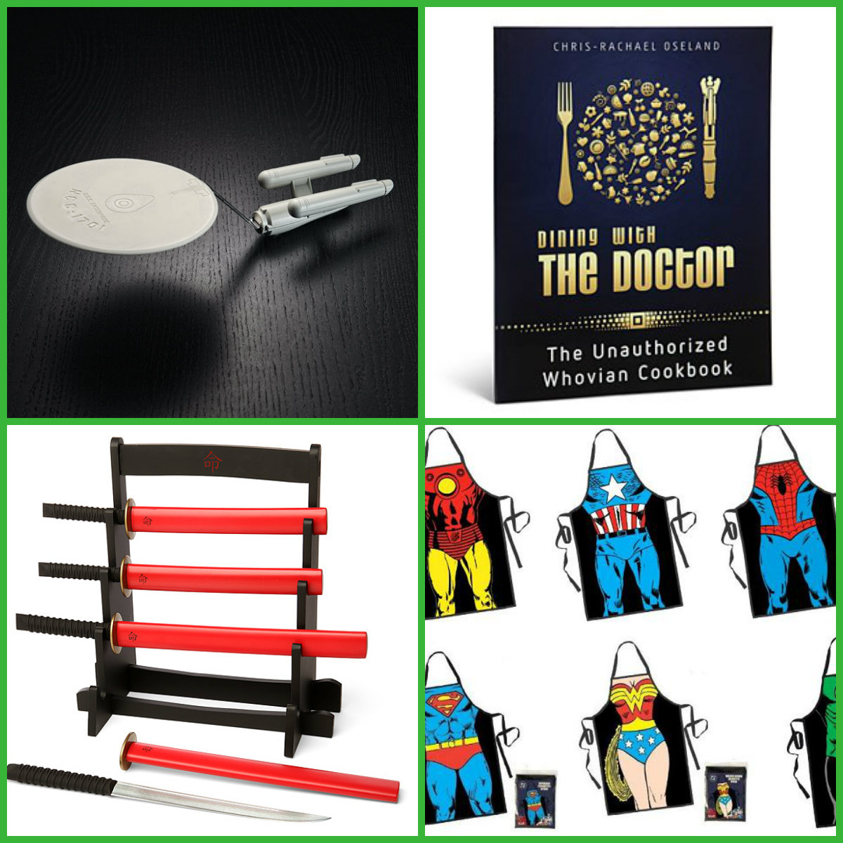 Top 10 Holiday Gifts For The Geeky Chef Nerd Reactor