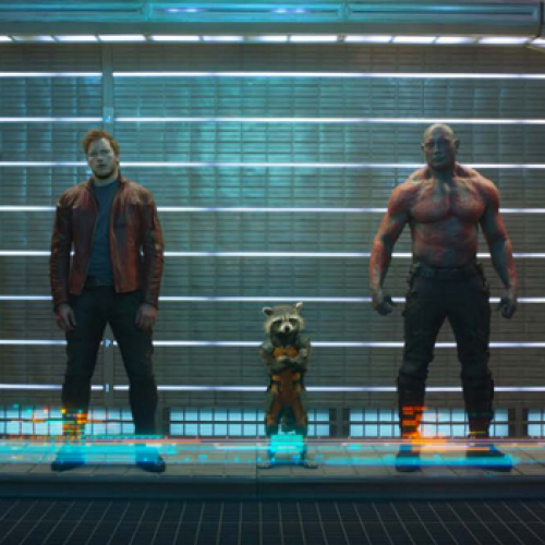 Guardians of the Galaxy gets an early still