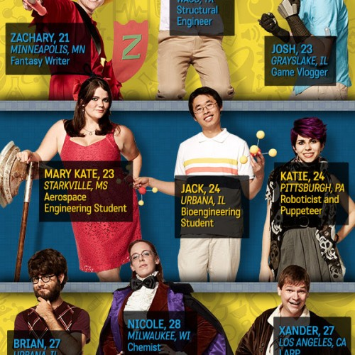 Meet the 11 nerds for TBS' King of the Nerds Season 2