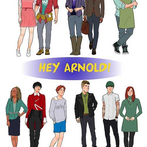 Hey Arnold, Rugrats, and Recess all grown up!