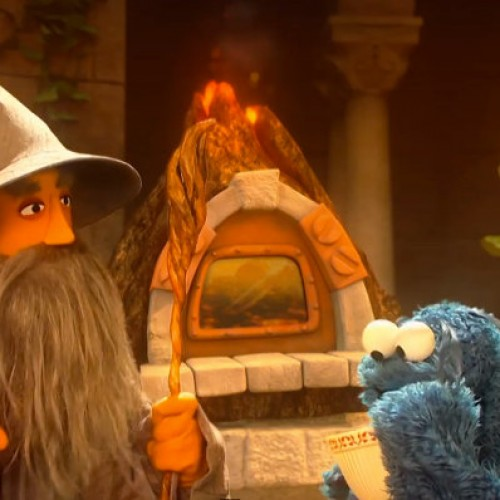 Sesame Street spoofs 'The Lord of the Rings'
