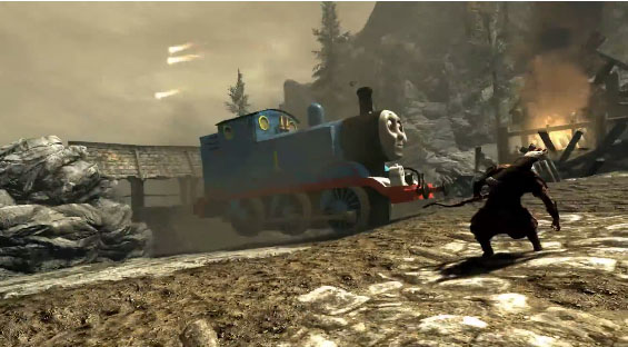 skyrim thomas train