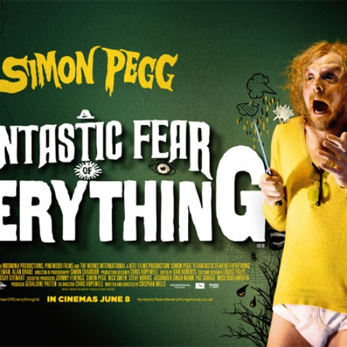 Check out Simon Pegg's film 'A Fantastic Fear of Everything'!