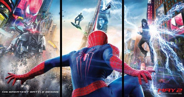 The amazing spider-man 2 banner