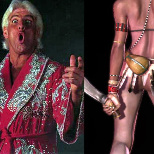 Videogame BANG! Episode #11: Ric Flair and Mulatto Butts