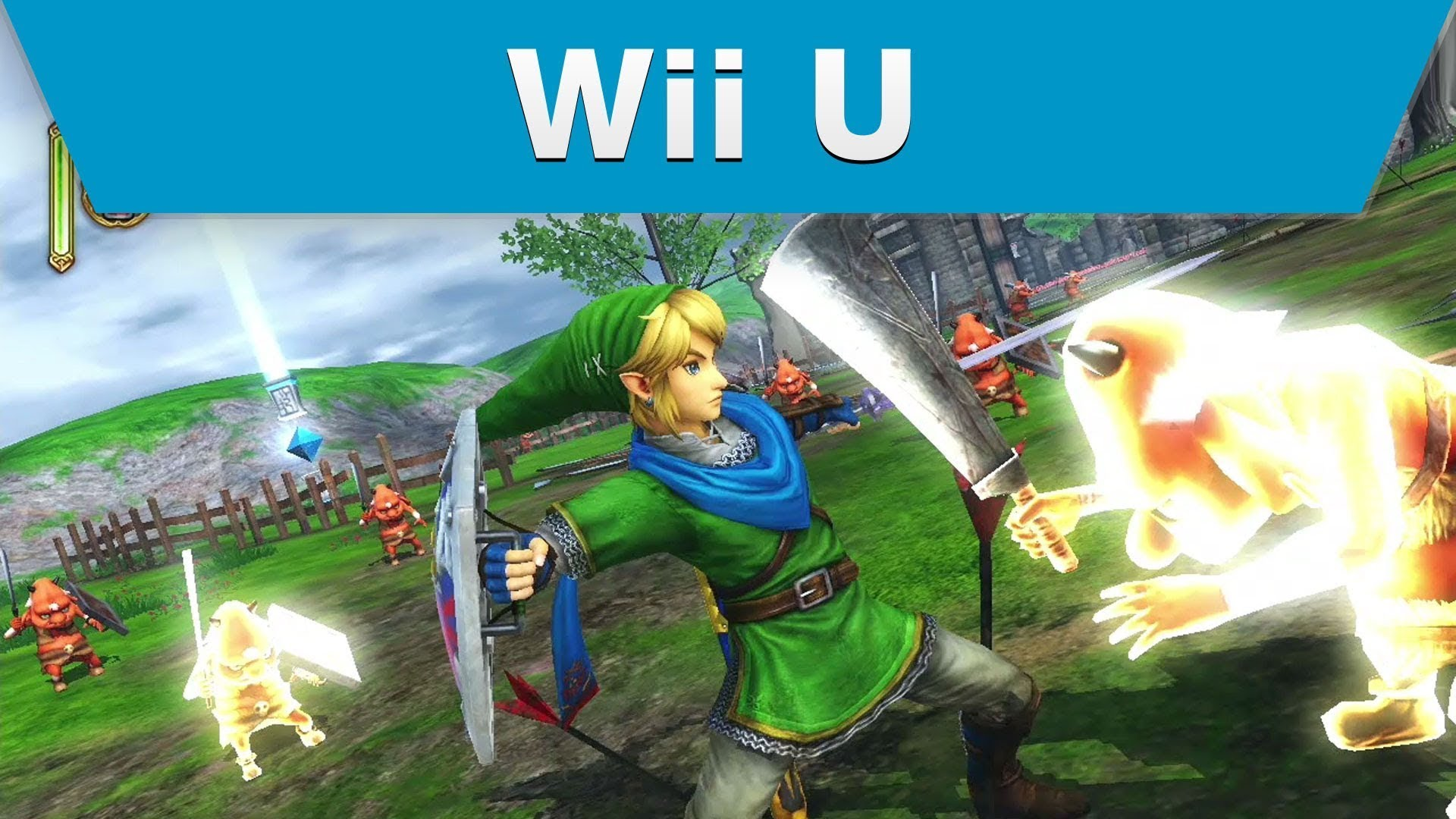 Wii U Game Trailer : Zelda meets dynasty warriors in new trailer for hyrule