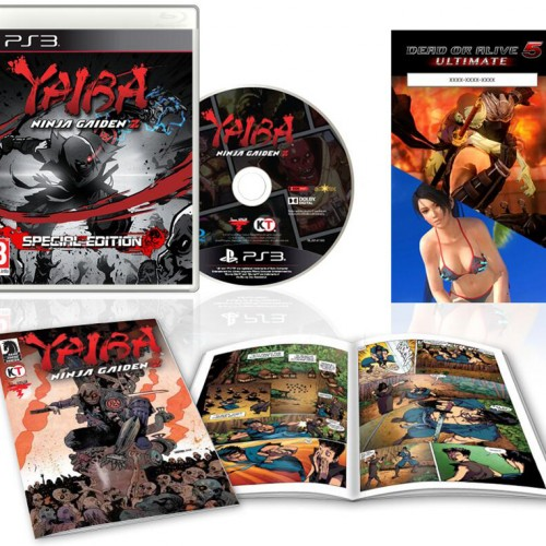 Yaiba: Ninja Gaiden Z Special Edition filled with tons of costume goodies