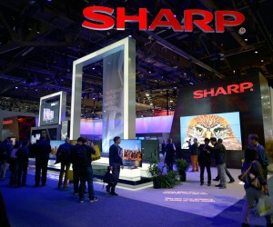 Sharp Electronics Corporation Booth 2014 CES