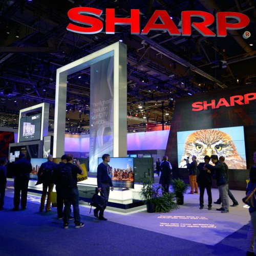 CES 2014: Sharp bringing the heat!